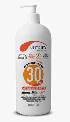 Protetor Solar FPS 30 Corporal Nutriex Profissional