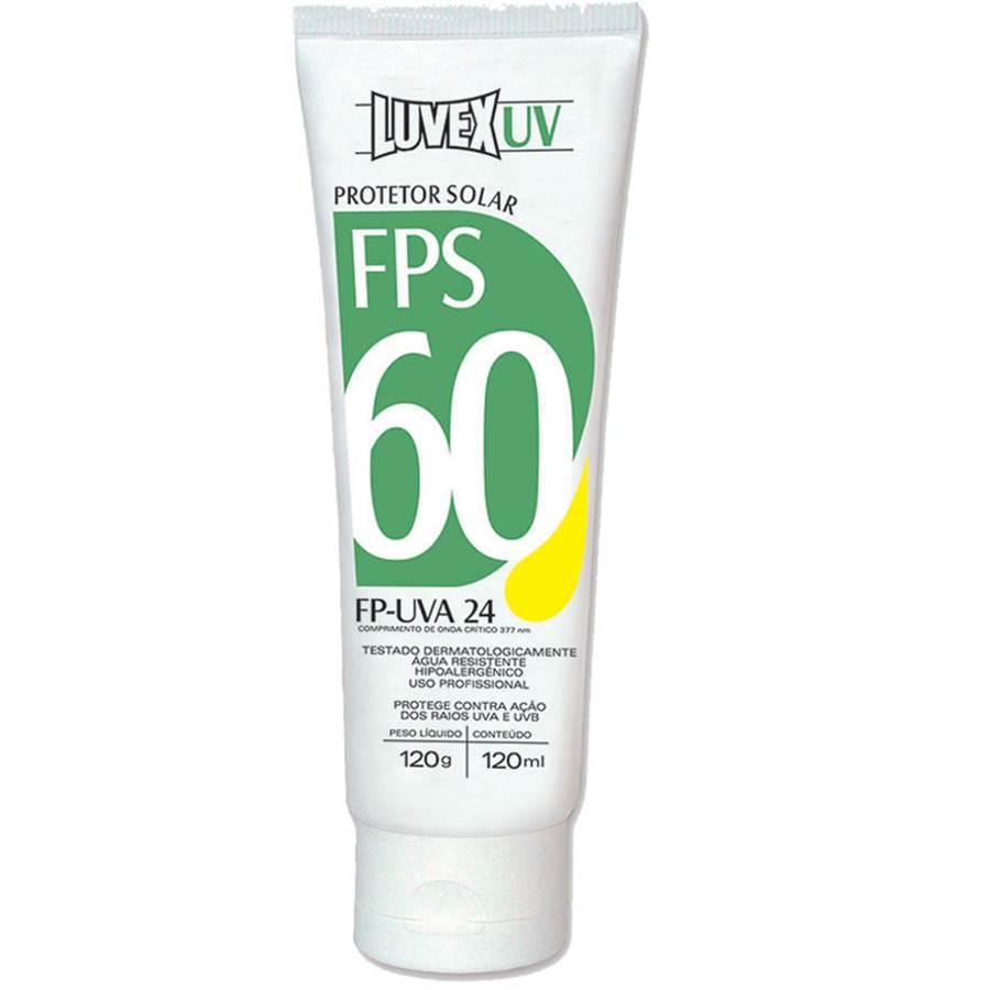 Protetor Solar  UV FPS 60 / UVA 24