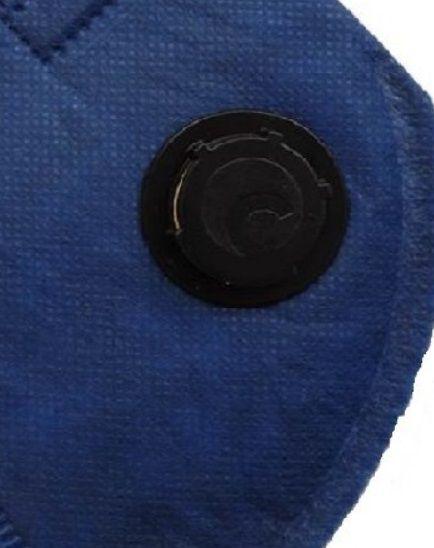 Respirador Descartável Semi-Facial PFF2 com Válvula CA 38944