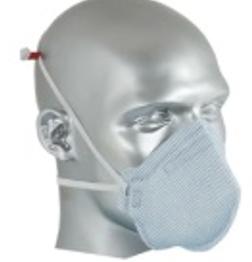 Respirador Descartável Semi-Facial PFF2  Sem Válvula CA 38955