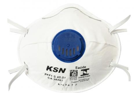 Respirador PFF-1 com Válvula Tipo Concha CA 38261