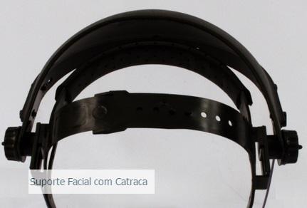 Suporte Facial com Catraca CA33262 - EPI Sul do Brasil 761207a930