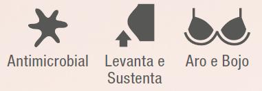 Sutiã Control Slim 47160-001