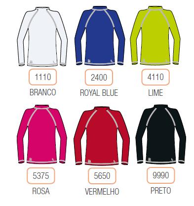 T-Shirt Kids UV Protection Unissex 77014-001