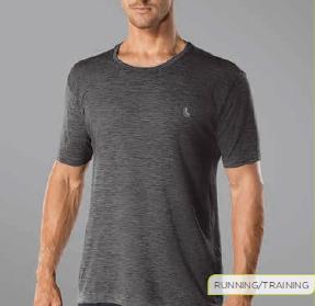 T-Shirt Lupo Run Mescla 70653-001