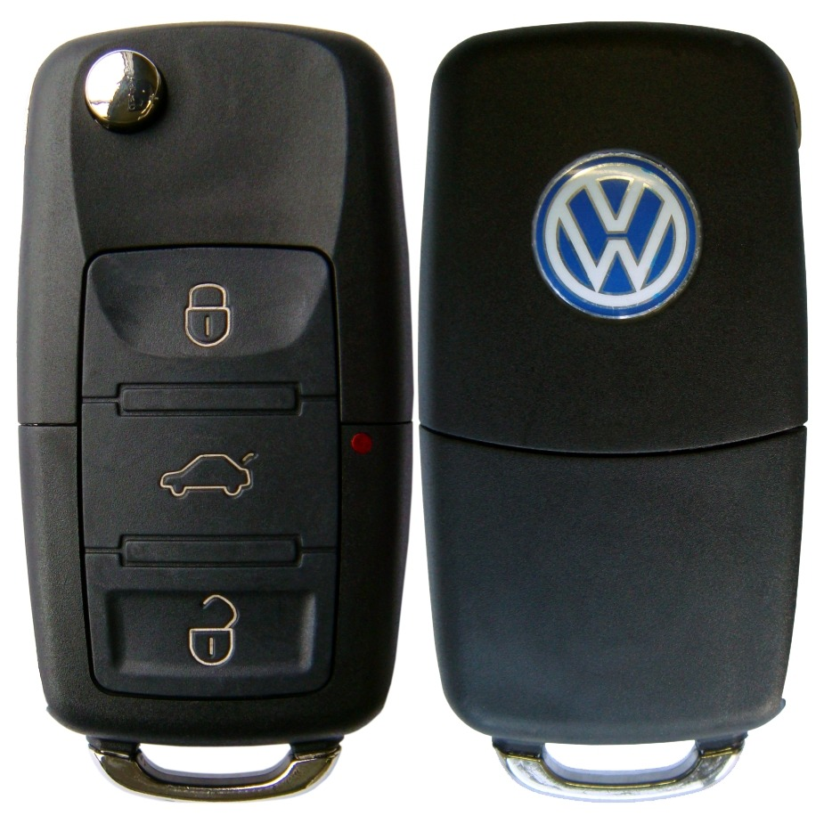 Chave Canivete Polo + Placa Alarme Positron + Lamina VW Chevrolet GM Fiat Ford Peugeot Renault