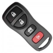 Capa Controle Alarme Nissan 4 Botões Tiida - Sentra