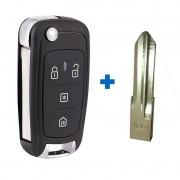 Chave Canivete Alarme Positron Px80 + Placa de Circuito + Lamina - Linhas 290 292 293 300 330