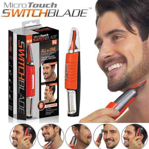 Depilador Aparador Micro Touches Hair Trimmer All-in-one