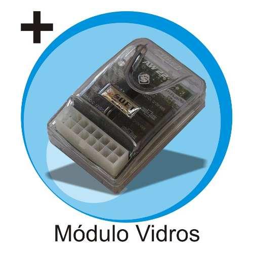 Alarme Automotivo Positron Ex360 Chave Canivete Modulo Vidro