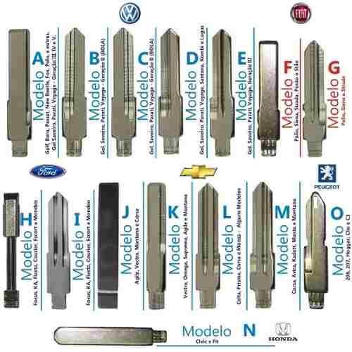 Chave Canivete Alarme Orignal Gm C/ Placa Astra Celta Corsa