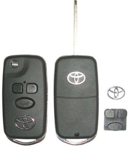 Chave Canivete Toyota Corolla Fielder - 2003 - 2008 Seg Xei