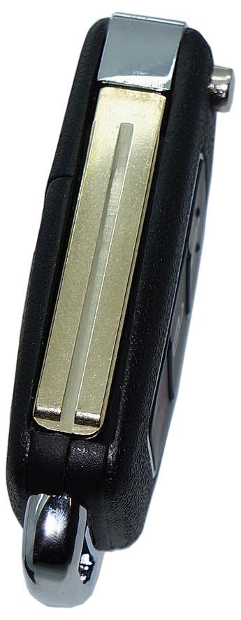 Chave Canivete Original Hyundai Hb20 3 Botões Substituição