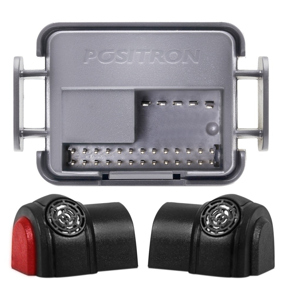 Alarme Automotivo Positron Ex 330 Chave Canivete + Lamina