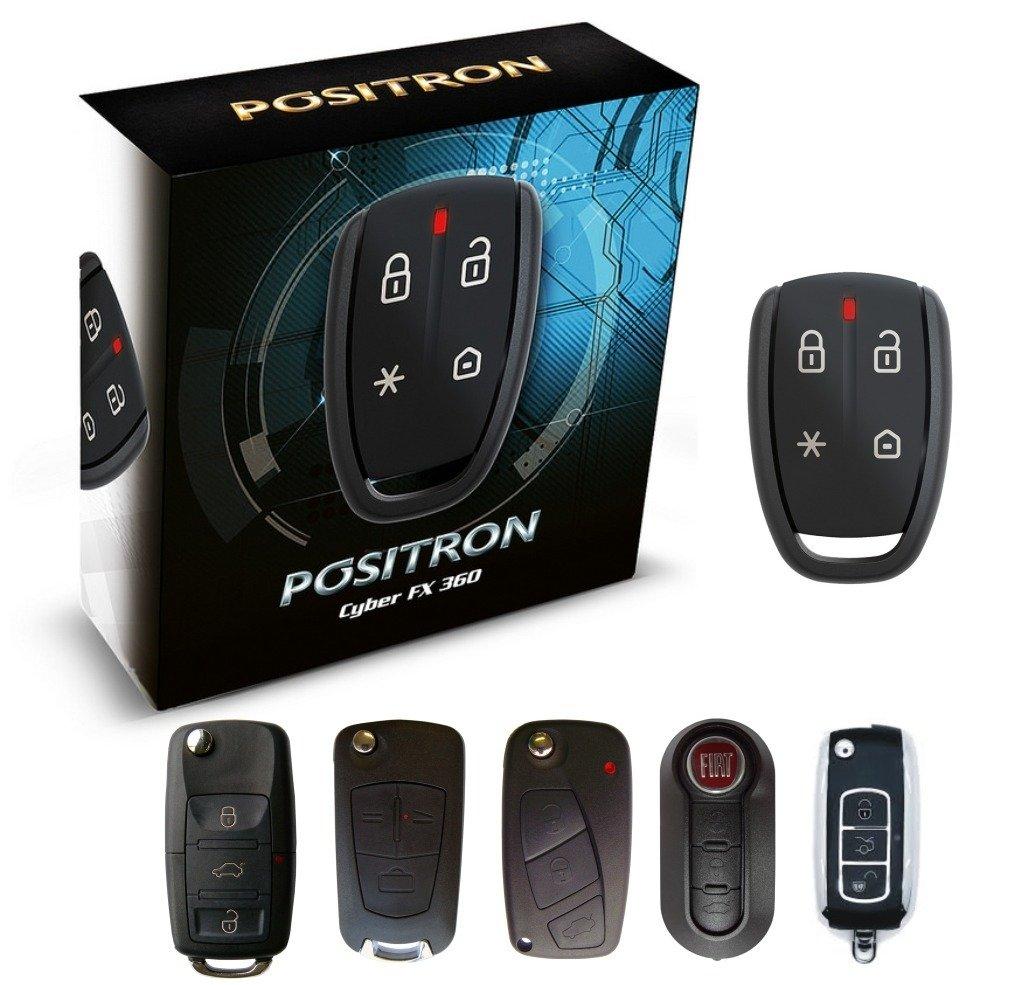 Alarme Automotivo Positron Fx330 Chave Canivete Positron
