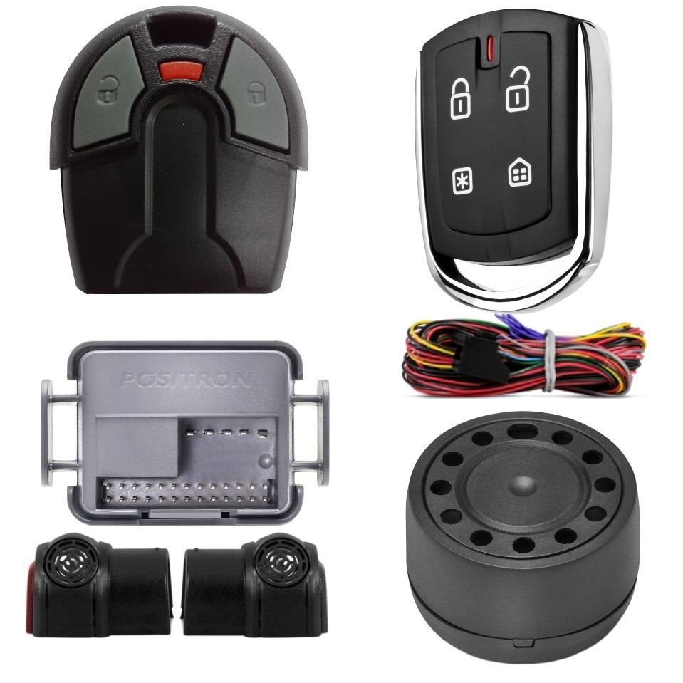 Alarme Positron Px 360 + Controle Fiat
