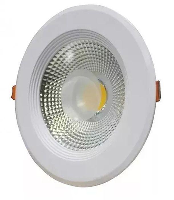 Luminaria Dowlight Led cob 30w de Embutir Branco  4000K  - a3mmagazine