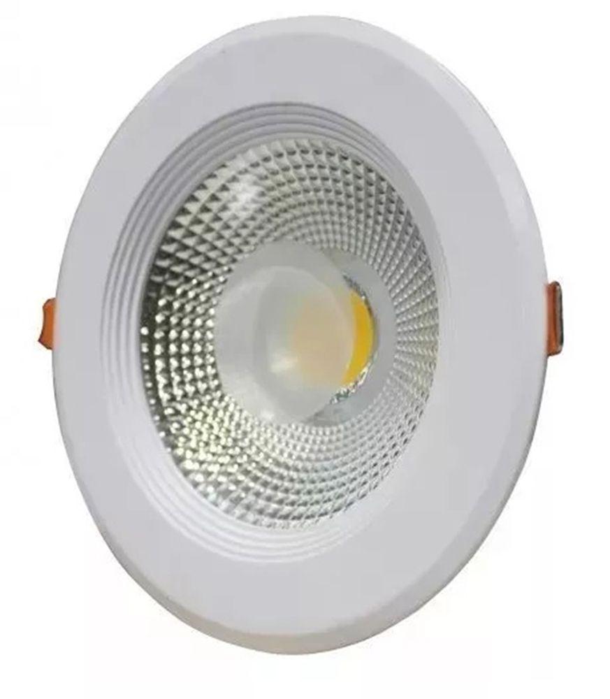 Luminaria Dowlight Led cob 30w de Embutir Branco Frio 6500K  - a3mmagazine