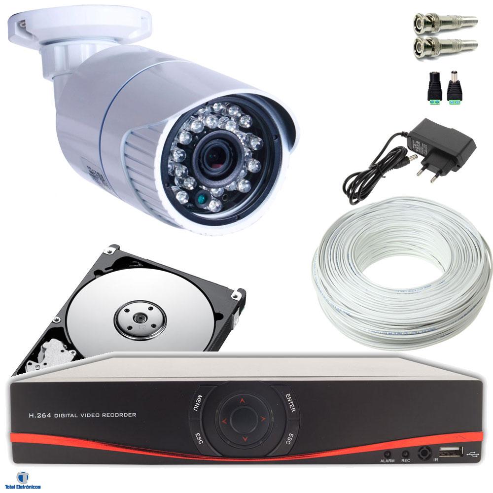 Kit camera noturna - Camera de vigilancia ...