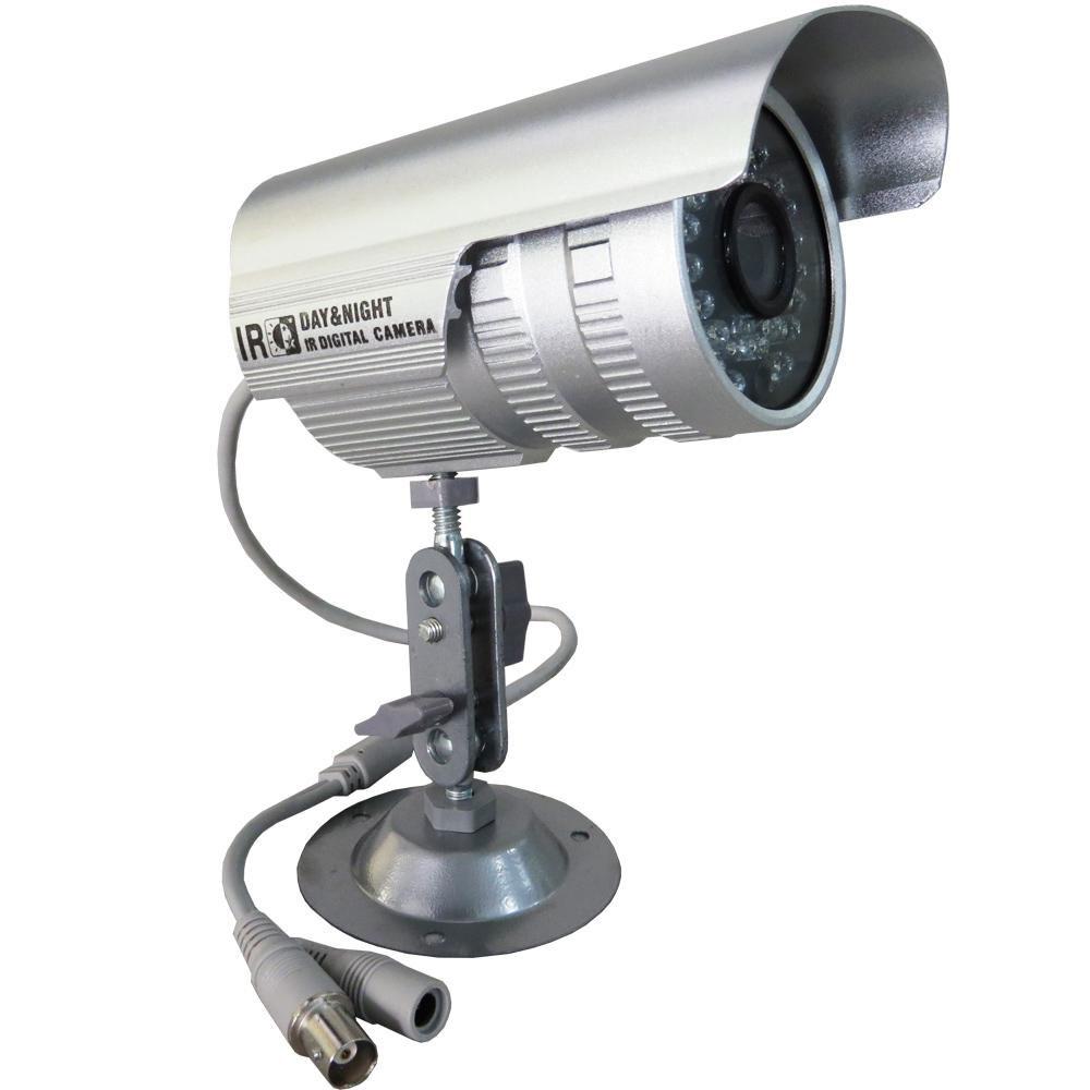 Kit 4 cameras de vigilancia infravermelho com dvr ahd m - Camera de vigilancia ...