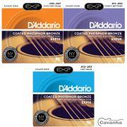 Encordoamento Daddario EXP Aço Phosphor Bronze para violão ...