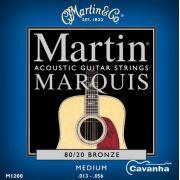 Encordoamento Martin Marquis 80/20 Bronze 013 para violão ...