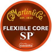 Encordoamento Martin SP Flexible Core para violão