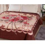Cobertor Casal Jolitex Toque Macio e Antialergico Fiore