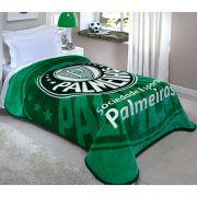 Cobertor Palmeiras Macio 150X200   Corttex