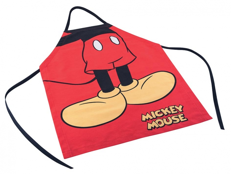 Avental Adulto Estampado Mickey M 1 peca   Lepper