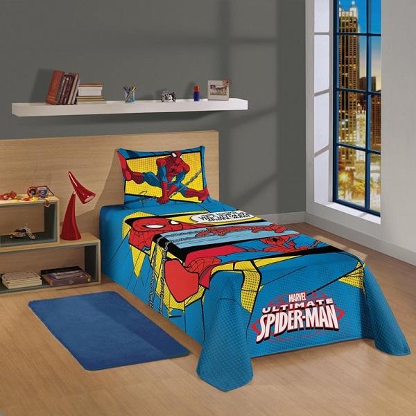 Jogo de Cama Solteiro 2 pçs Spider Man 04999901 - Lepper