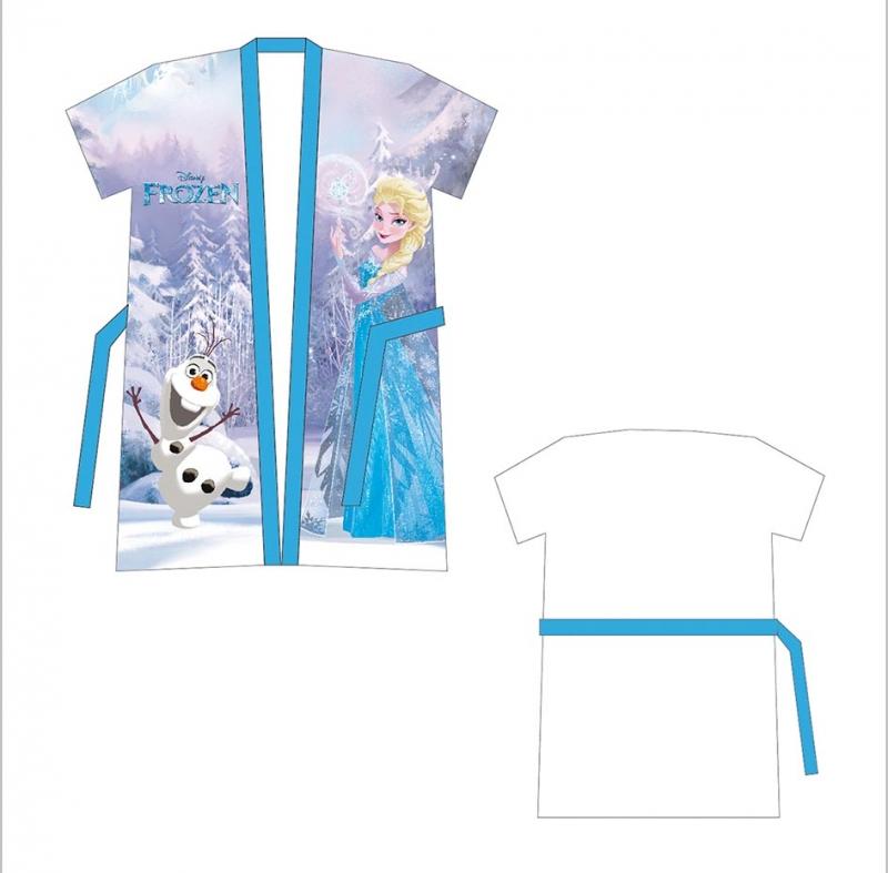Roupão Aveludado Verão Frozen | Lepper