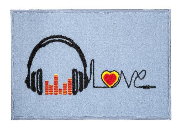 Tapete de Porta 40x60 cm Happy Day Musica| Corttex
