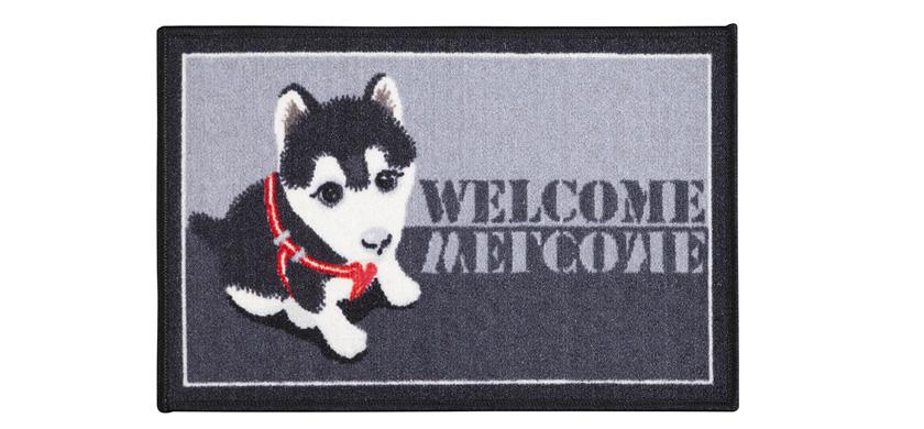 Tapete de Porta 40x60 cm Pet Husky| Corttex