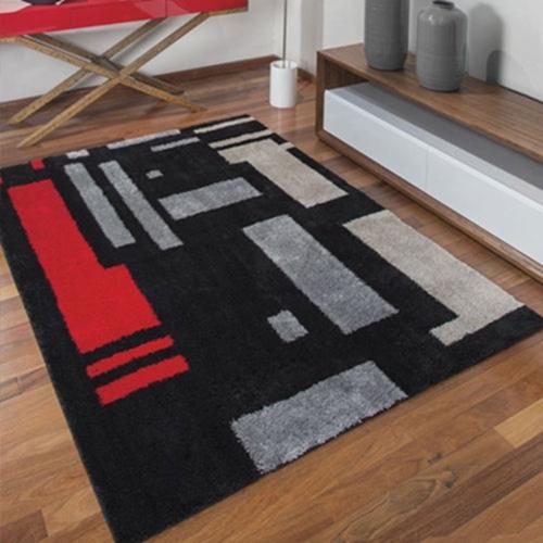 Tapete de Sala Quarto Estampado 1,50×1,00 Jolitex Labirinto ~ Tapete Quarto Jolitex