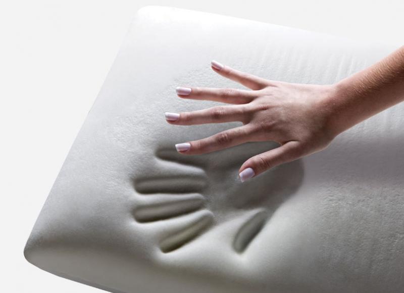 Travesseiro Nasa De Viscoelastico 16cm Altura  Master Comfort