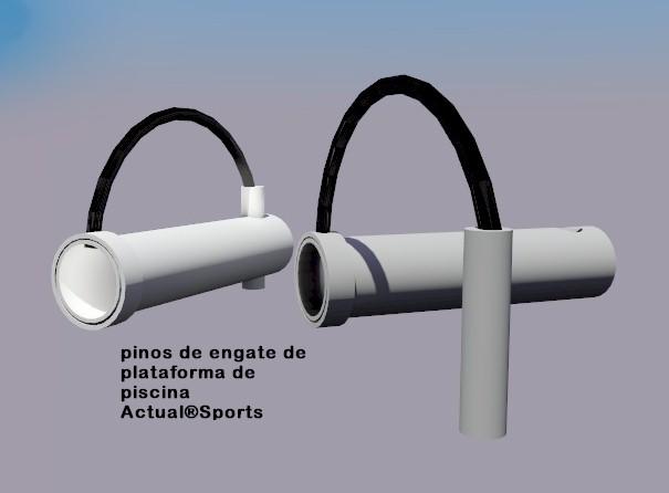 PINO PARA ENGATE DE PLATAFORMA DE PISCINA