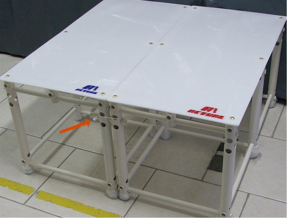 Pino para engate de plataforma de piscina actual for Plataforma para piscina