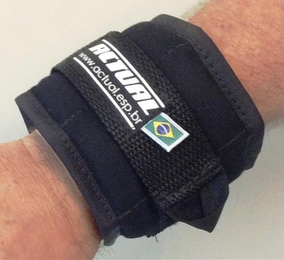 MUNHEQUEIRA DE PESO 500g/Par - Wrist Weight Actual