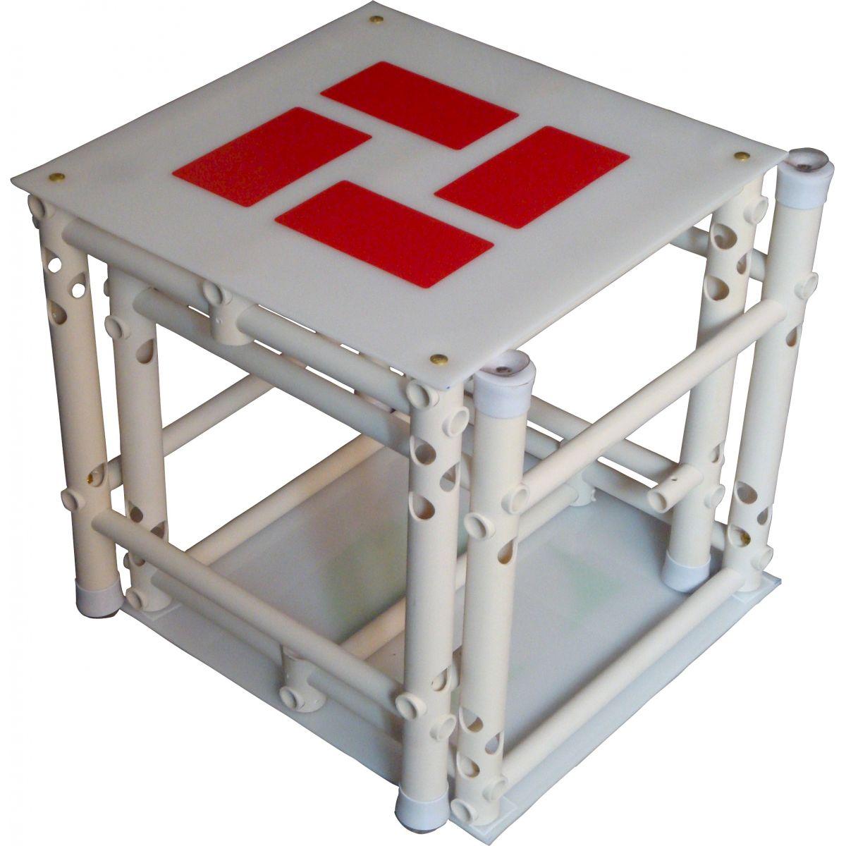 Cubos para elevar fundo de piscina 50x50x50cm encaix veis for Plataforma para piscina