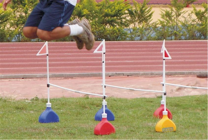 KIT POSICIONADOR BALIZAS BARREIRINHAS - LINHA ATIVA ACTUAL 10 PEÇAS  - Actualsports  Equipamentos Esportivos