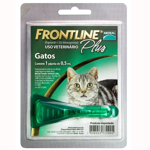 FRONTLINE PLUS GATOS MERIAL