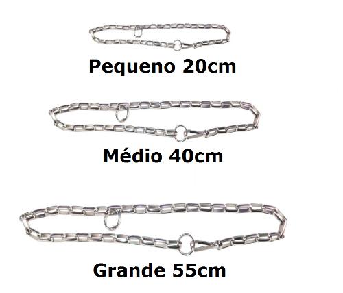 GARGANTILHA P/ CÃES (CORRENTE)