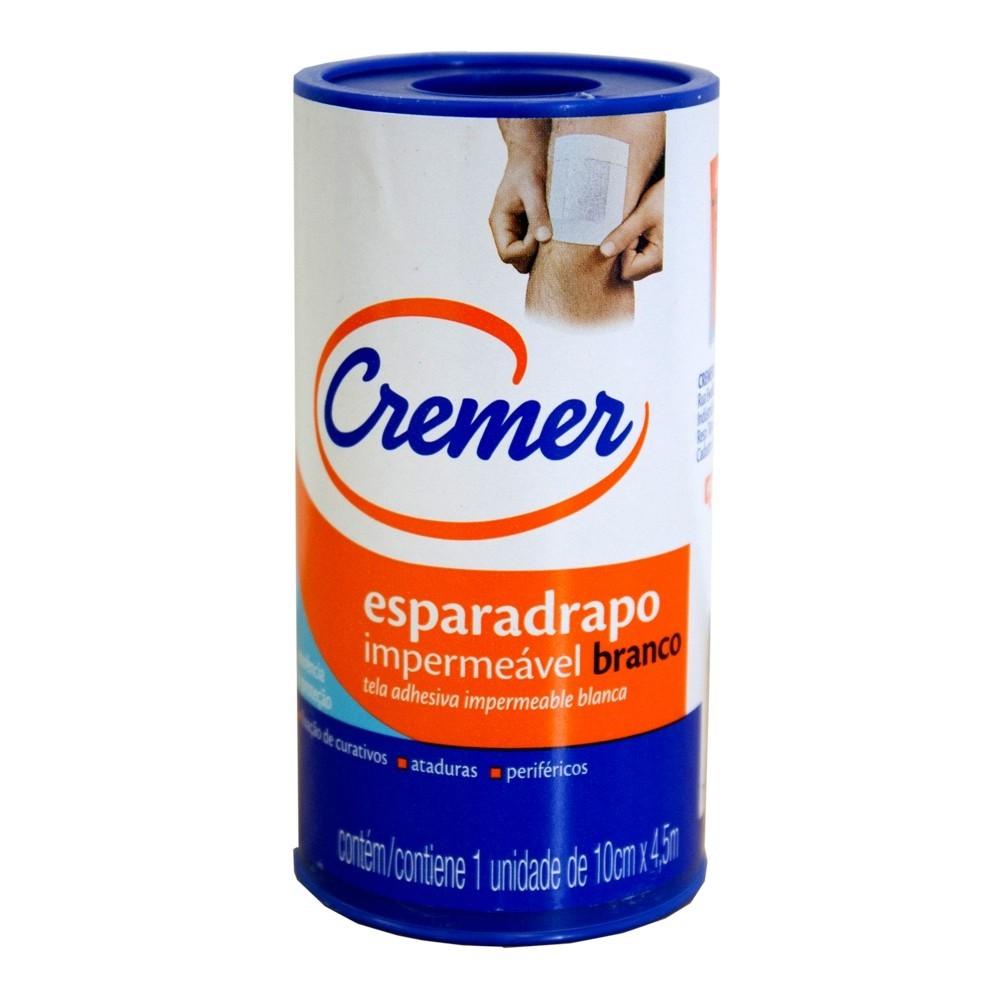 ESPARADRAPO IMPERMEÁVEL 10CM X 4,5M CREMER