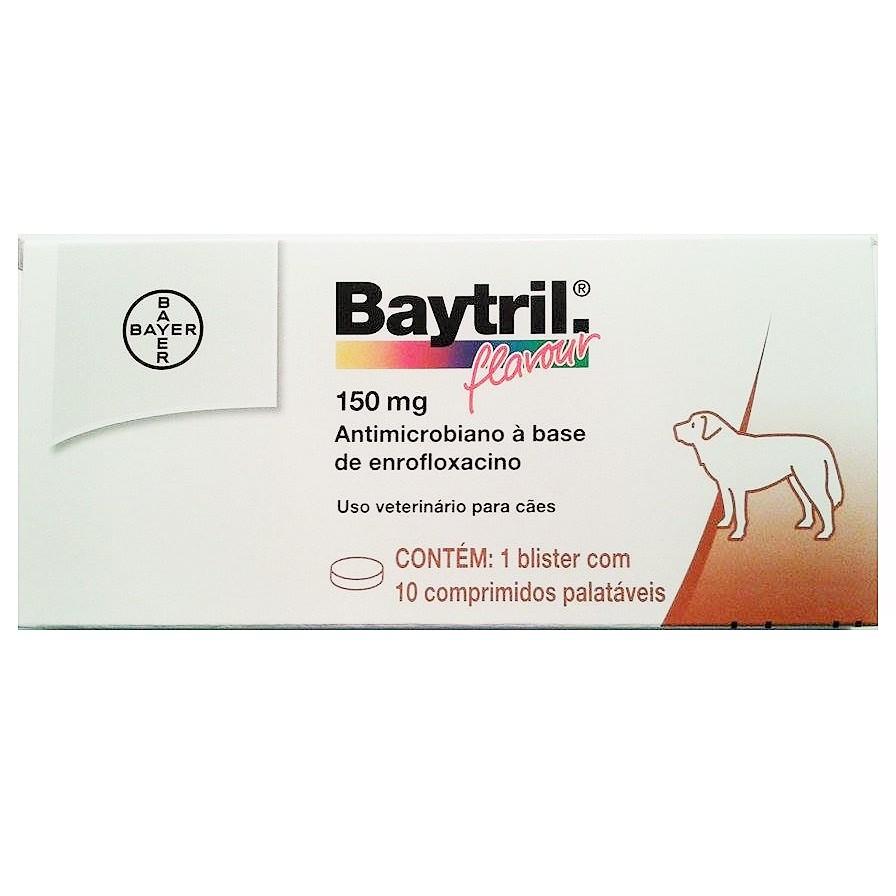 BAYTRIL FLAVOUR 150 MG 10 COMPRIMIDOS - BAYER PET