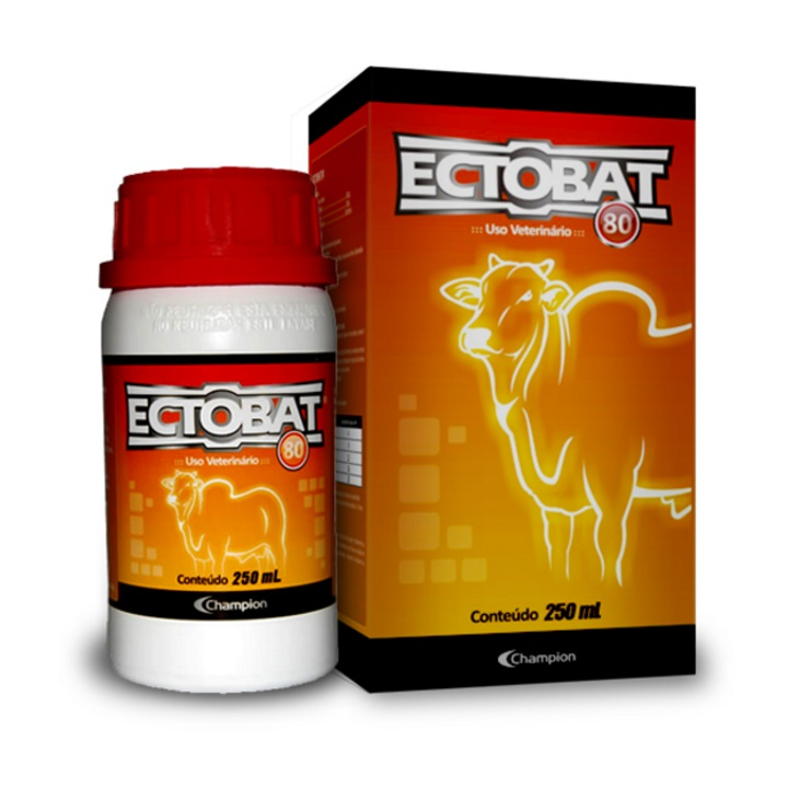 ECTOBAT 80 PULVERIZACÃO 250ML CHAMPION