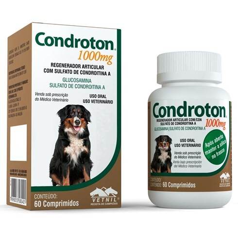 CONDROTON 1000MG 60 COMPRIMIDOS VETNIL