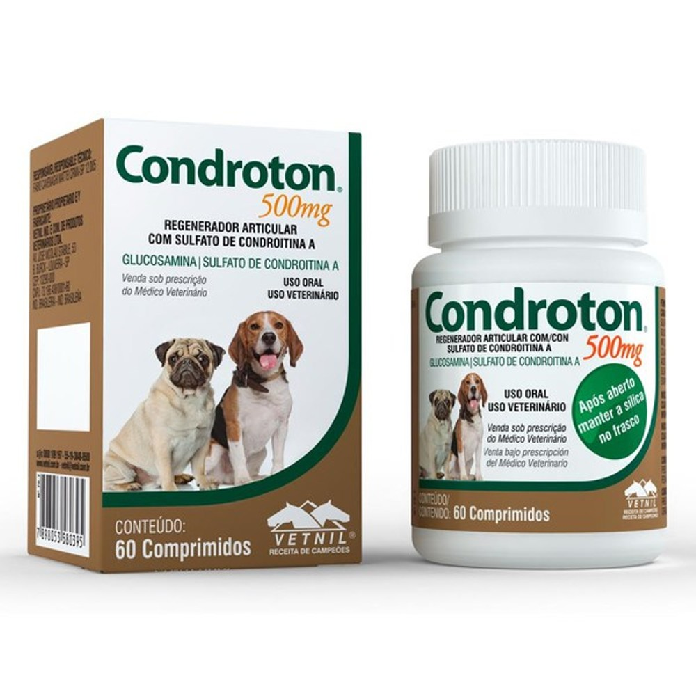 CONDROTON 500MG 60 COMPRIMIDOS VETNIL