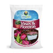 TERRA ESPECIAL P/ VASOS E FLOREIRAS 2,0 KG