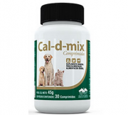 CAL-D-MIX 30 COMPRIMIDOS (CÁLCIO) VETNIL